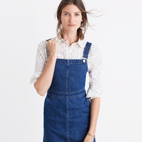 6f3285c5a0 Madewell Dresses   Skirts - MADEWELL Denim Overall Dress